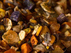 Fall root vegetables