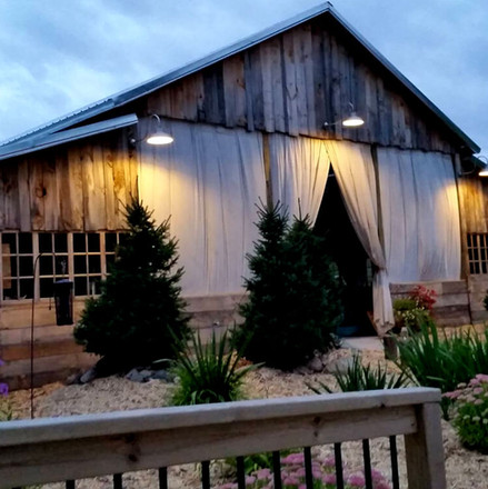 gorgeous wedding barn in the country