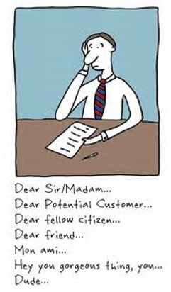 Cover Letter Quandry
