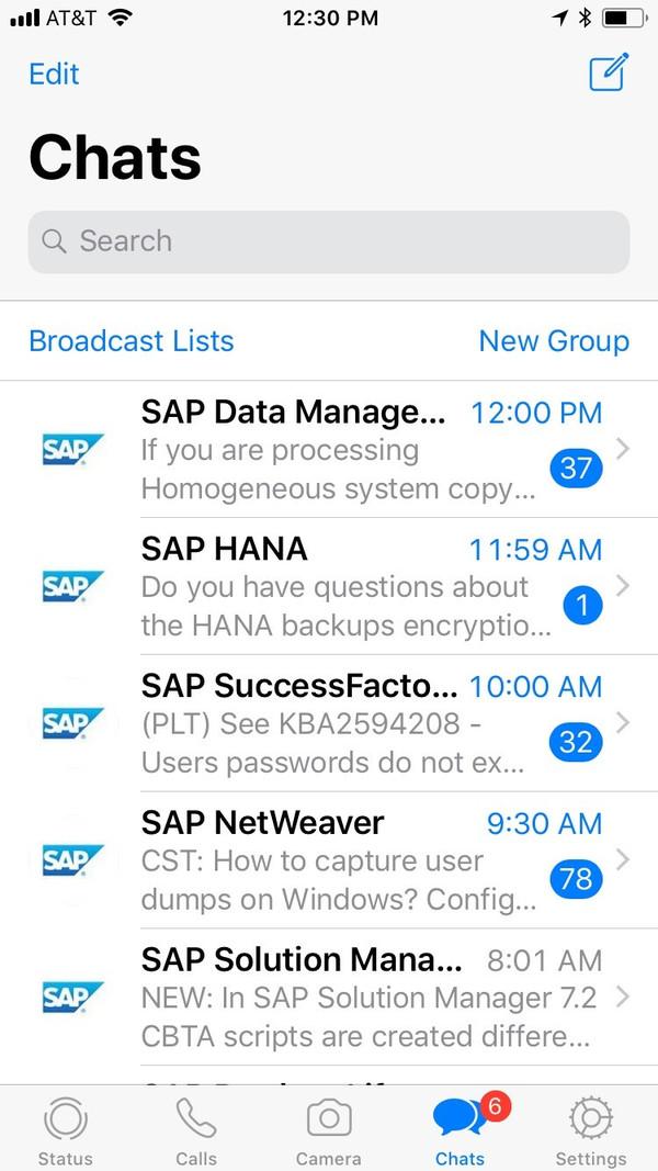 Sap lança nova funcionalidade que envia novidades sobre GRC através do aplicativo