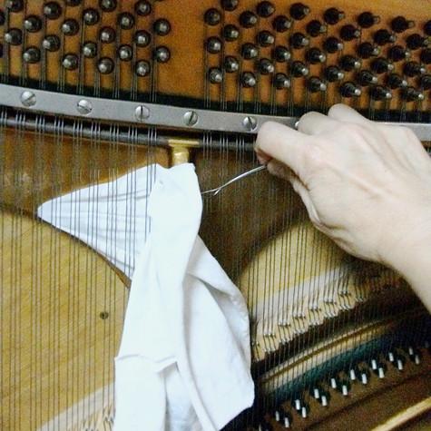 響板の汚れ取り ピアノドック標準無料セット