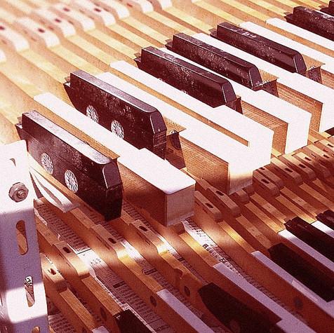 鍵盤ブッシングフェルト交換35,000円(税込)※ピアノドック時適用料金