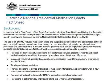 eNRMC Fact Sheet