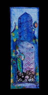 La porte bleue 49 x 16 cm 2008.jpg
