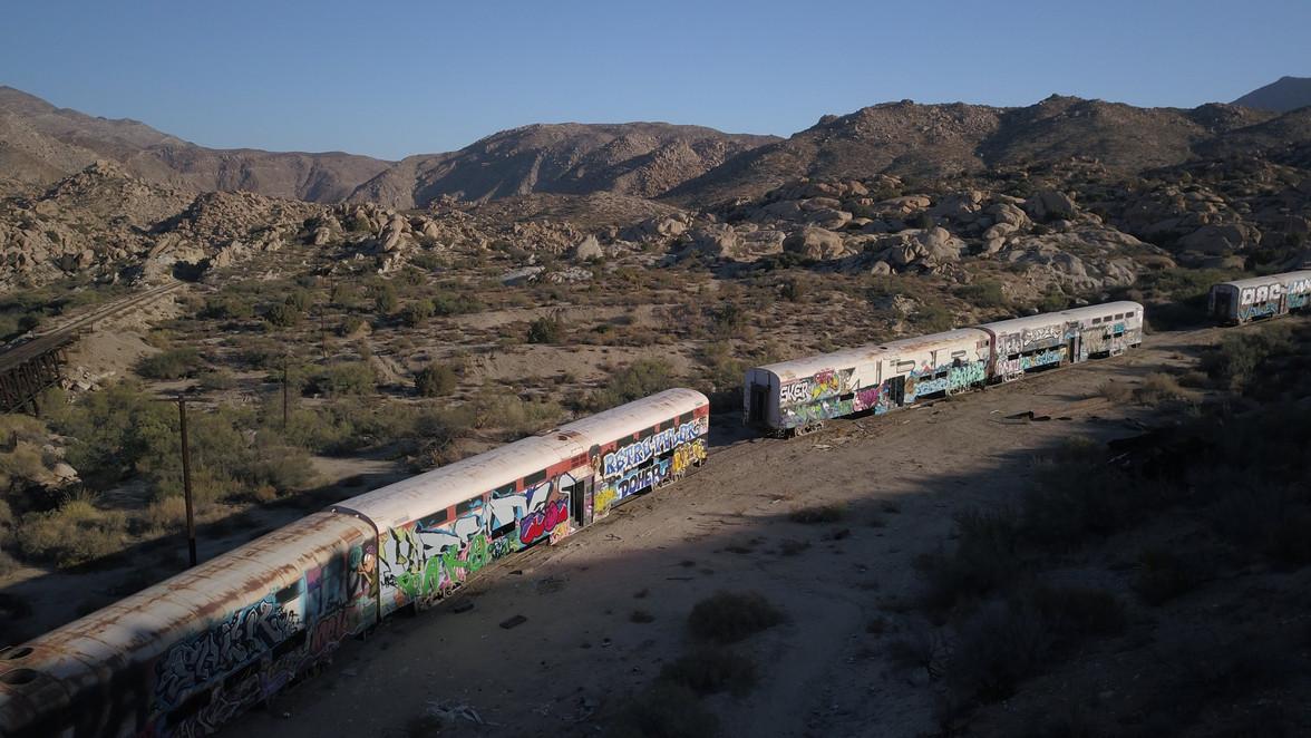 Abandoned Train Yard