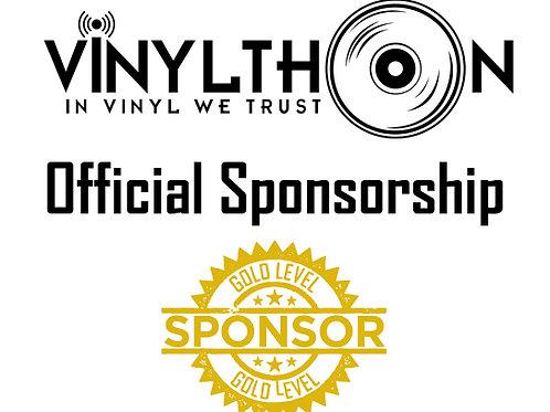 Vinylthon Official Sponsorship (GOLD)