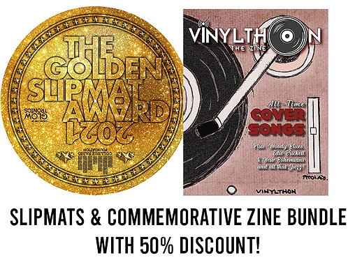 (USA) 2021 Golden Slipmat Award (x2) & Zine 50% off!