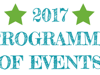 Newly Launched: March 2017 Programme of Events