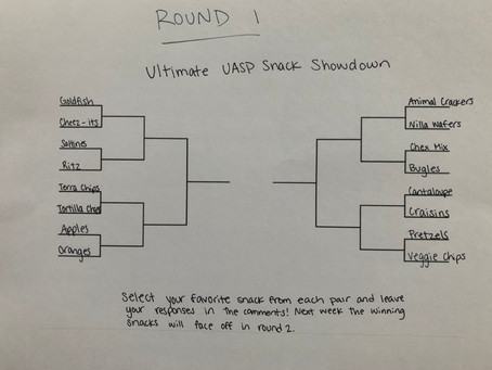 Ultimate UASP Snack Showdown: Round 1