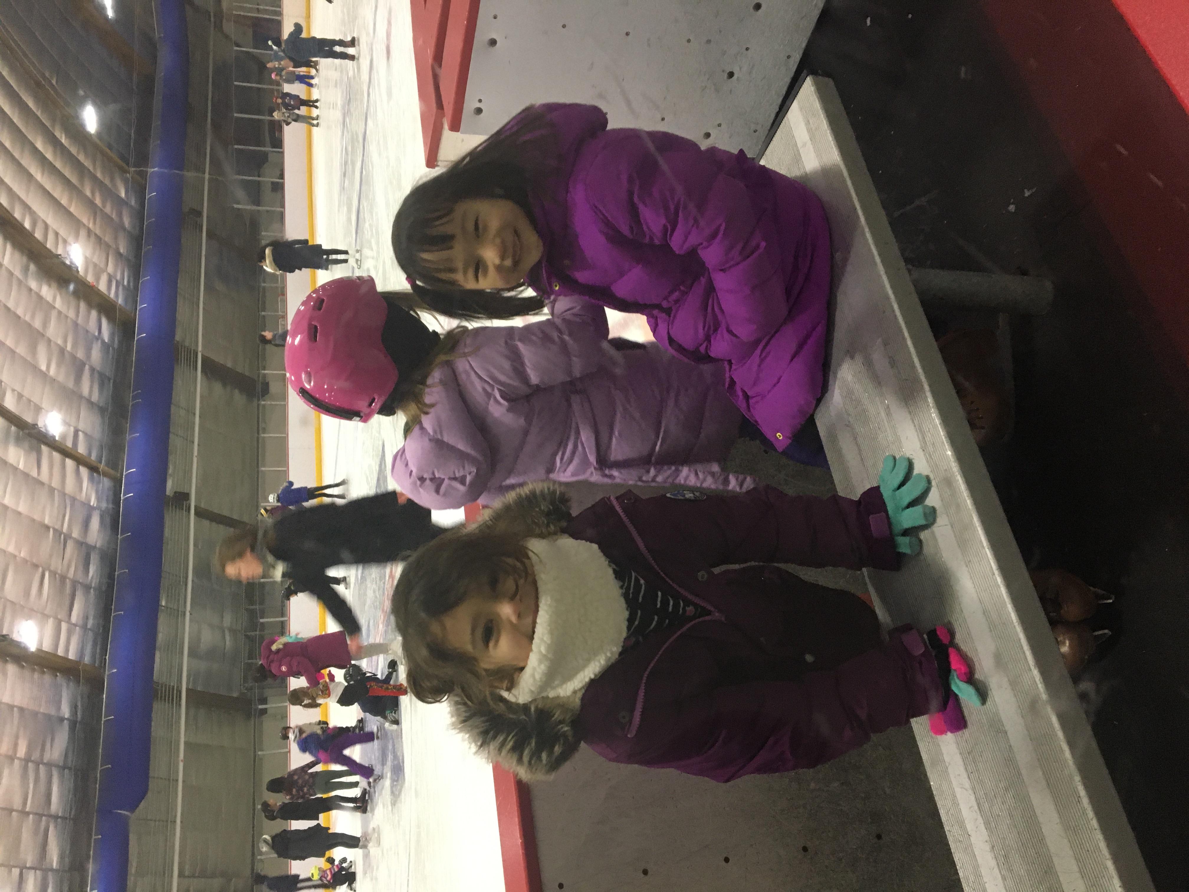 Ice skating at Daly Rink