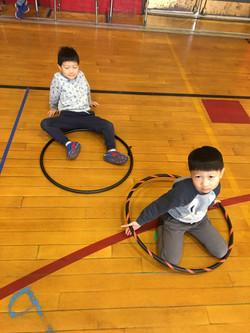 Hula Hooping with the Boston Hoop Troop