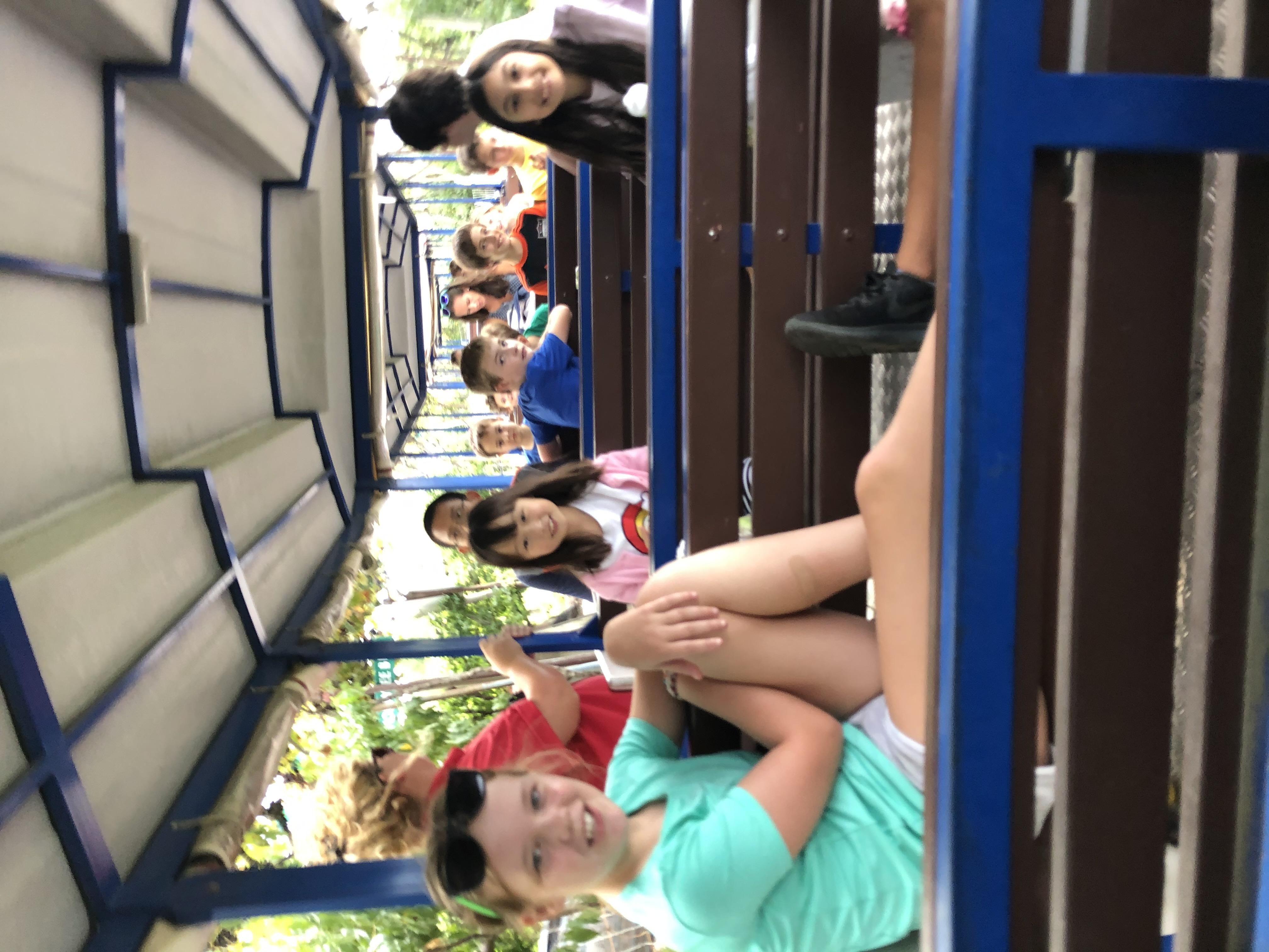 Trolly ride at Belkin Lookout Farm