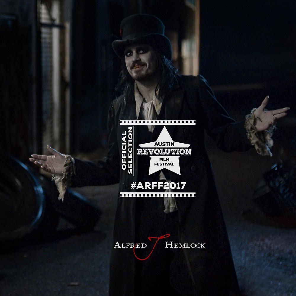 Alfred J Hemlock with Austin Revolution Official Acceptance Laurel