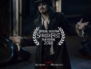 Alfred J Hemlock an Official Selection at Shriekfest Horror Film Festival