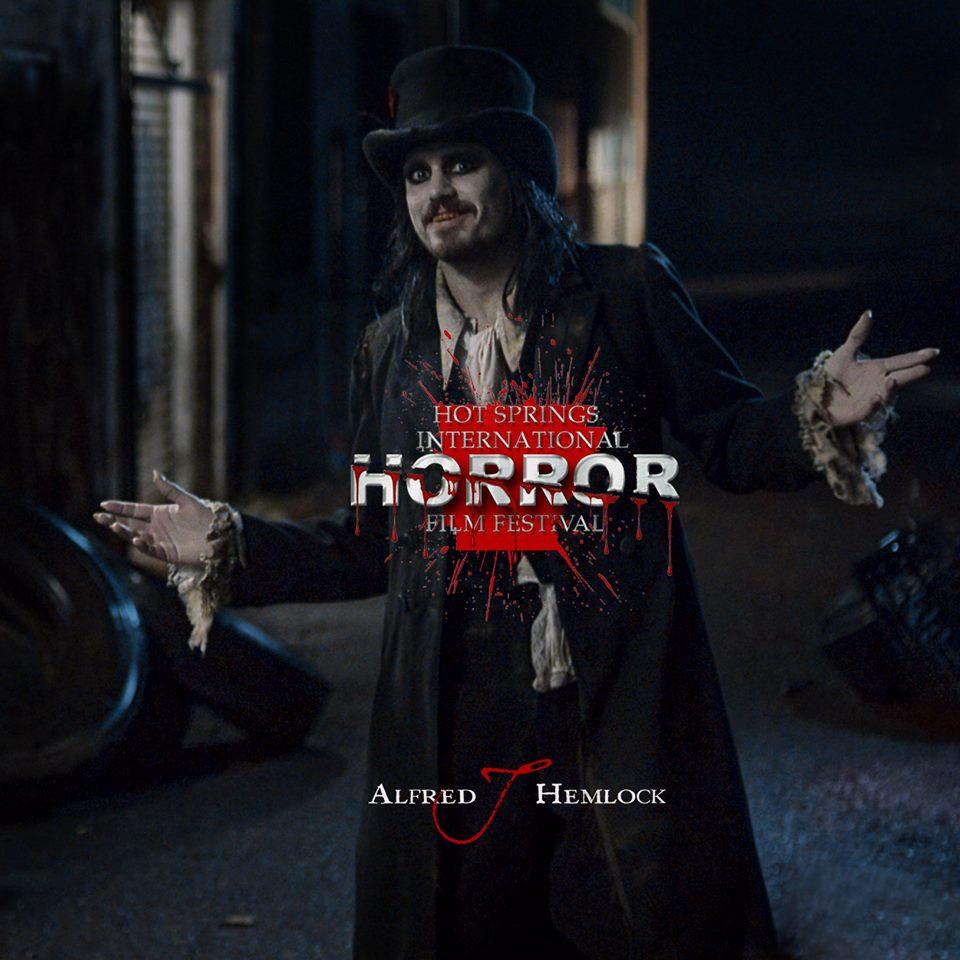 Alfred J Hemlock is an Official Selection at Hot Springs International Horror Film Festival