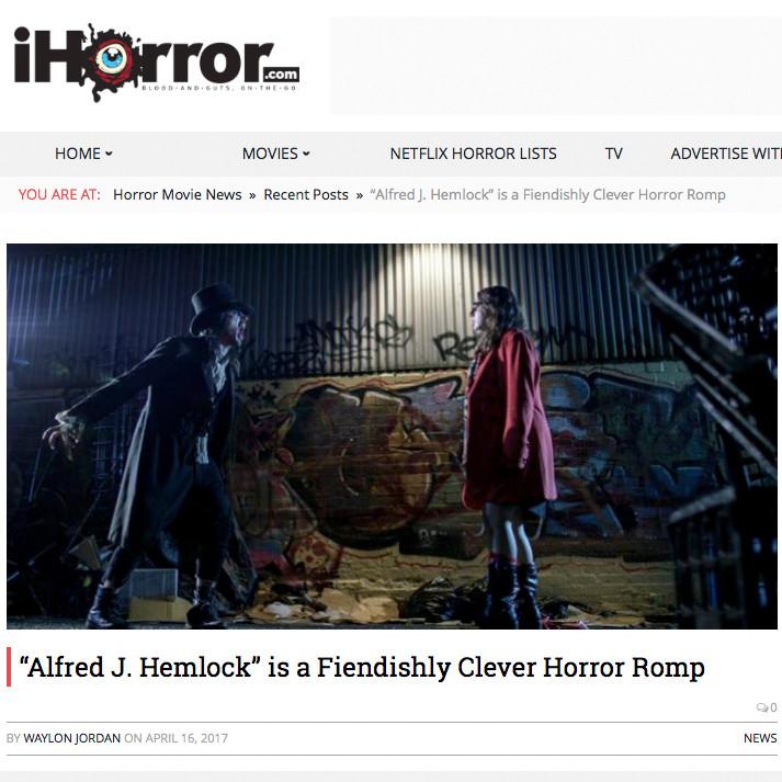 iHorror Review of Alfred J Hemlock