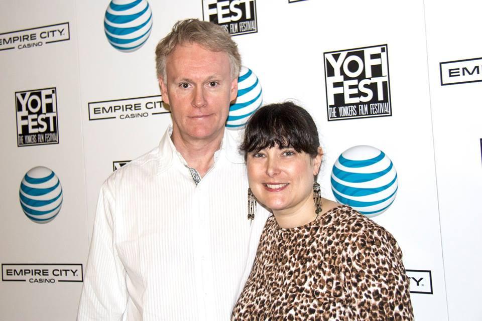 Alfred J Hemlock Director Edward Lyons and Producer Melissa Lyons at YoFiFest Opening Night 2017