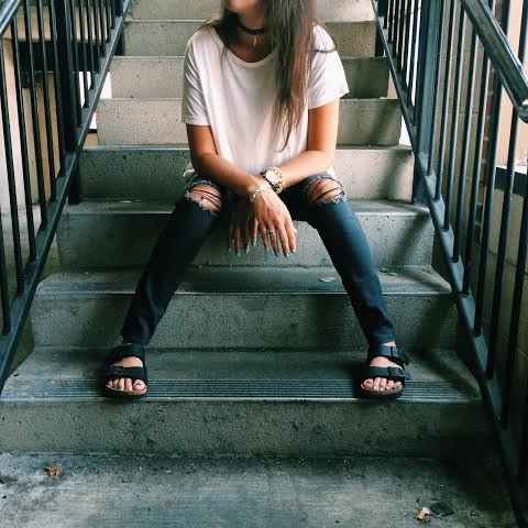 Just USA Ripped Jeans and Choker.jpg
