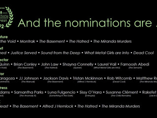 Alfred J Hemlock Nominated for Two Awards at the HorrorHound Weekend Film Fest