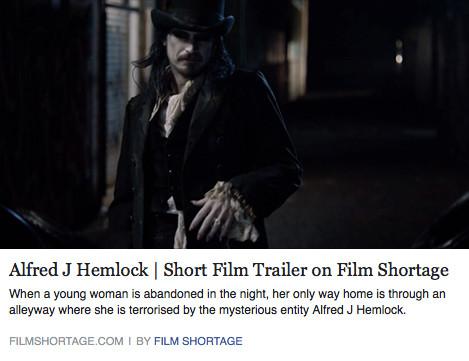Alfred J Hemlock Trailer on Film Shortage