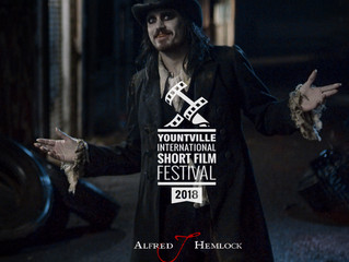 Alfred J Hemlock an Official Selection at the Yountville International Short Film Festival