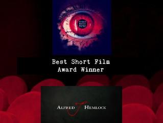 Alfred J Hemlock Wins Best Short Film at Wreak Havoc Horror Film Festival