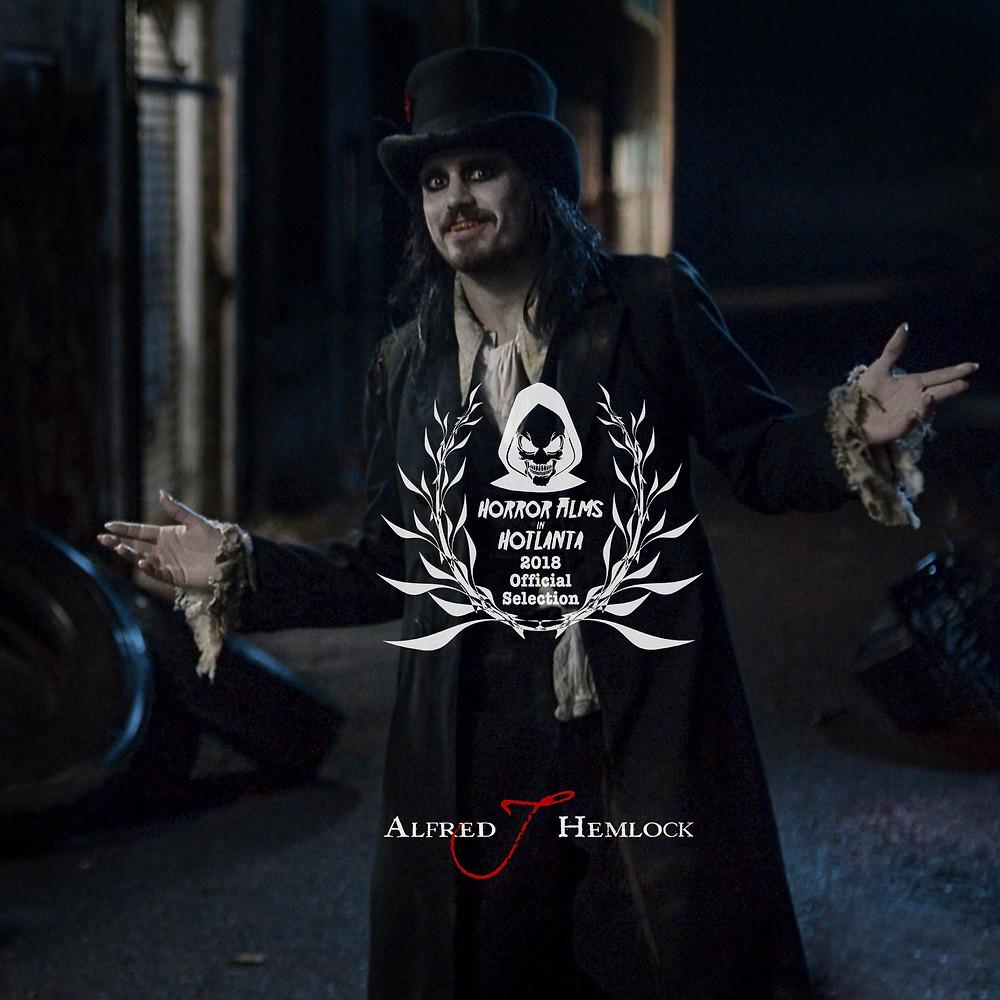 Alfred J Hemlock an Official Selection of Horror Films in Hotlanta Short Film Festival 2018