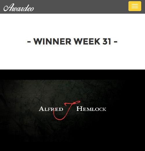 Alfred J Hemlock Winner Trailer of the Week