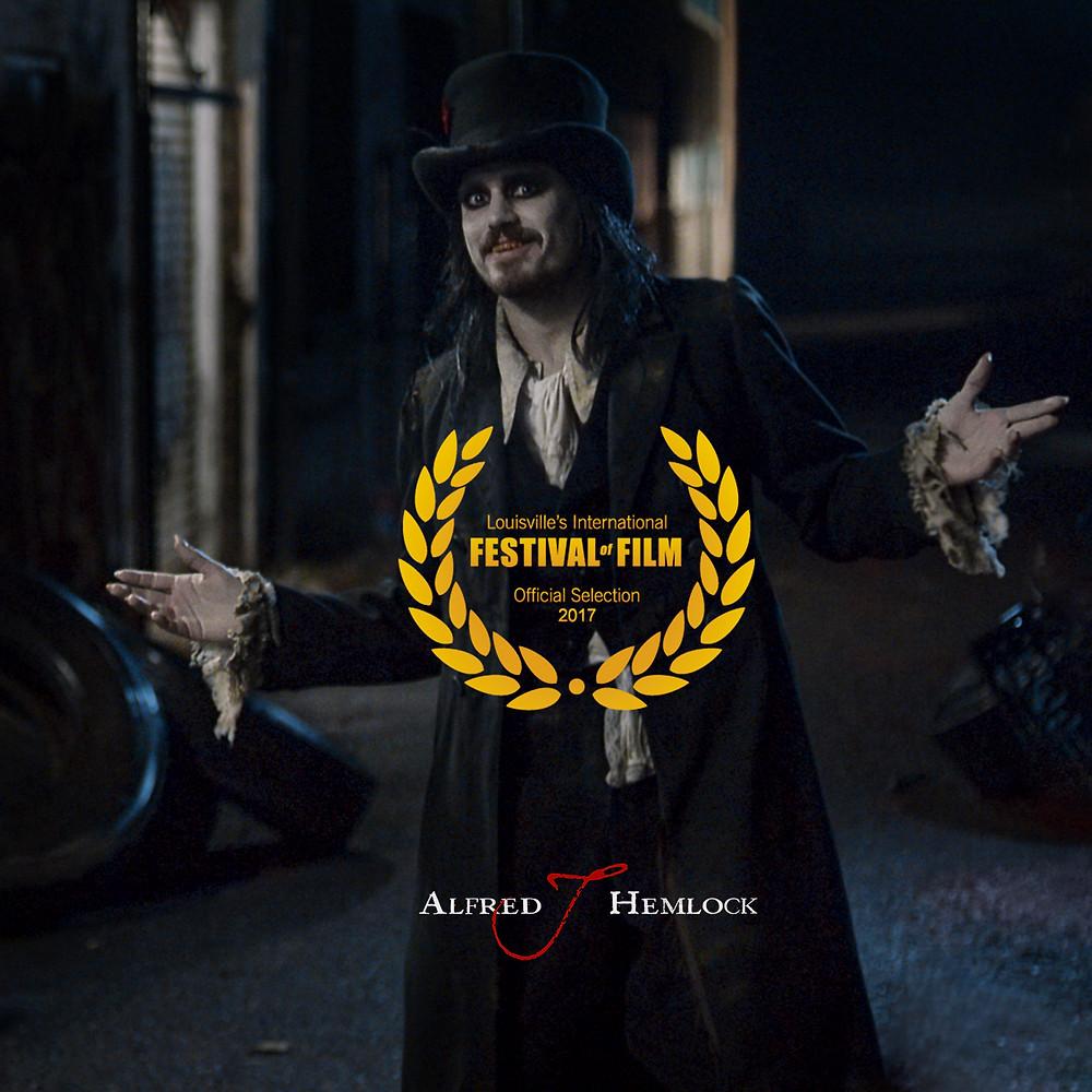 Alfred J Hemlock with Louisville's International Festival of Film Laurel