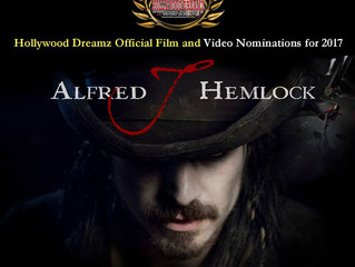 Alfred J Hemlock Nominated for 6 Awards at Hollywood Dreams International Film Festival