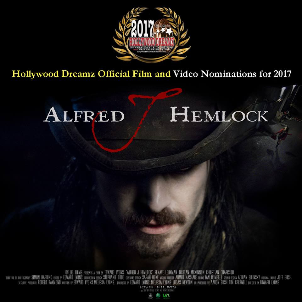 Alfred J Hemlock Hollywood Dreamz Nominations 2017