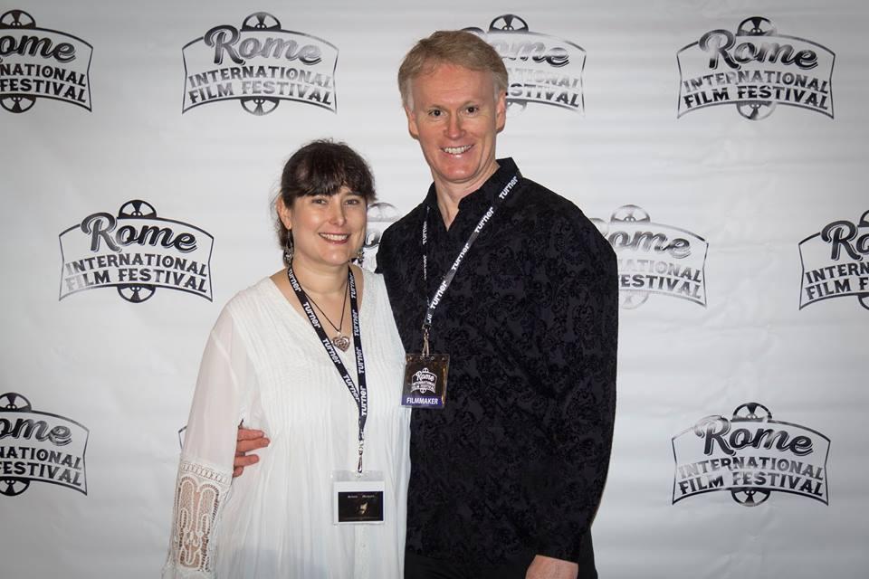 Melissa and Edward Lyons at Rome International Film Festival Opening