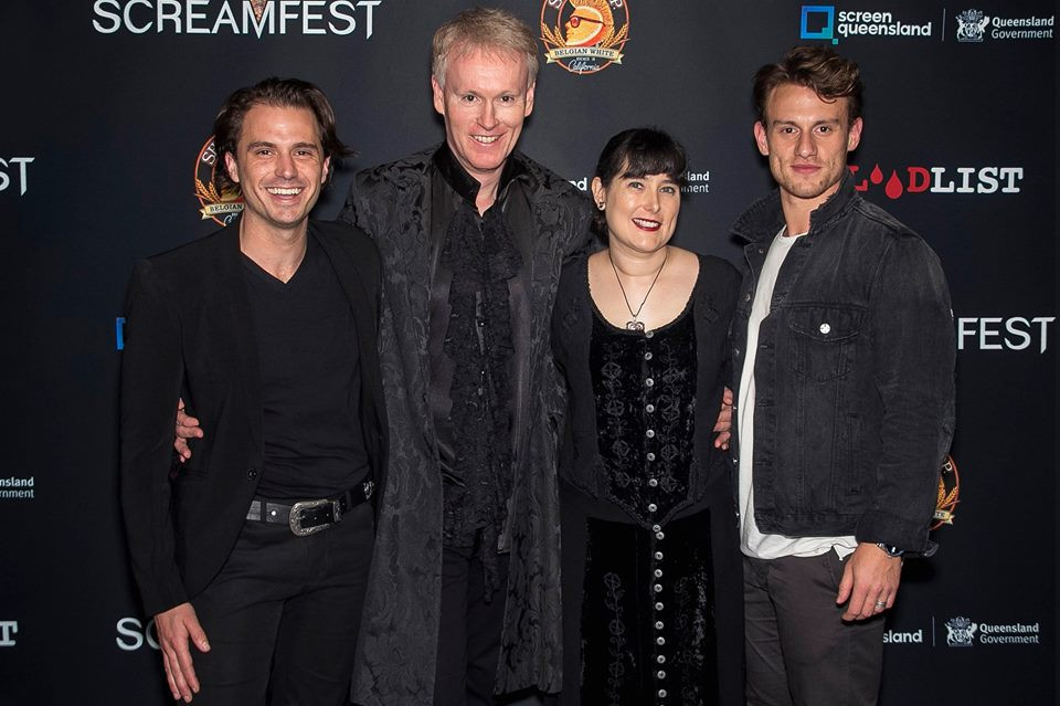 Alfred J Hemlock Team at Screamfest Opening Night
