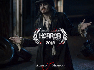 Alfred J Hemlock an Official Selection at HorrorHaus Film Festival
