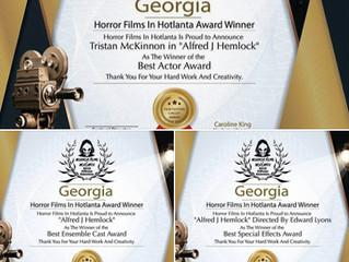 Alfred J Hemlock Wins At Horror Films in Hotlanta