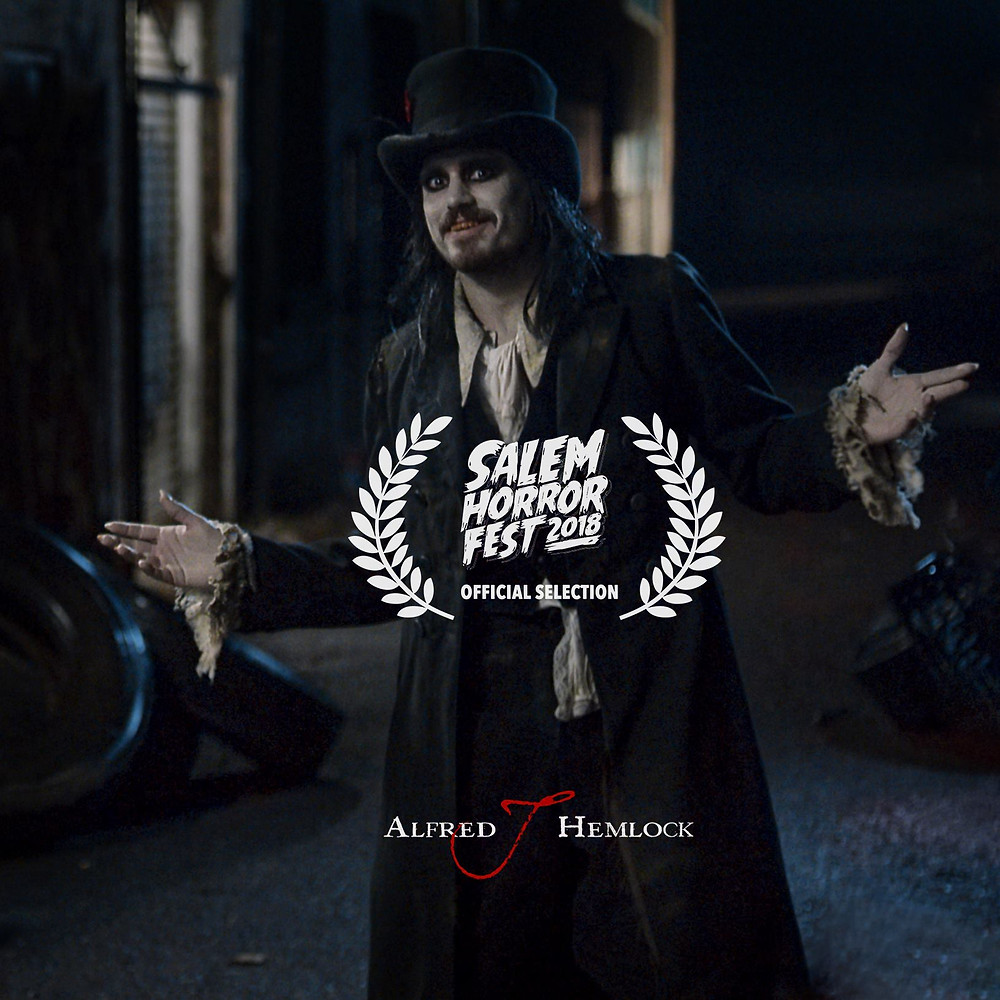 Alfred J Hemlock is an Official Selection of the Salem Horror Fest 2018