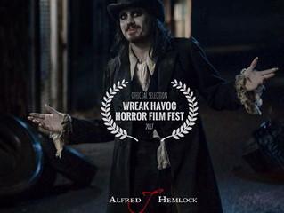 Alfred J Hemlock an Official Selection at Wreak Havoc Horror Film Festival