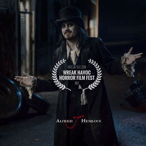 Alfred J Hemlock is an Official Selection at the 2017 Wreak Havoc Horror Film Festival