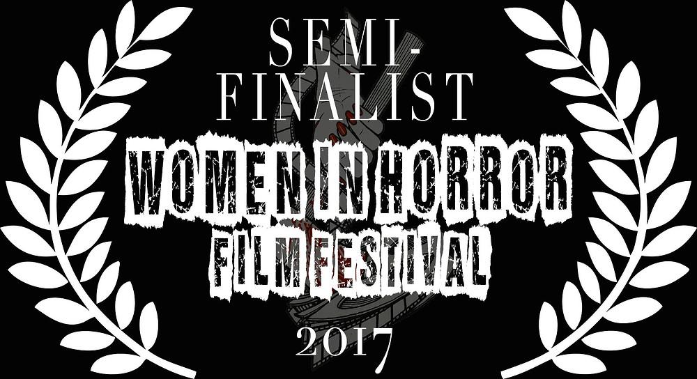 Alfred J Hemlock Semi-Finalist Women in Horror Film Festival 2017