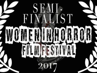 Alfred J Hemlock Selected as a Semi-Finalist Women in Horror Film Festival