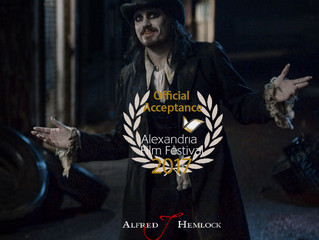 Alfred J Hemlock an Official Selection at the Alexandria Film Festival