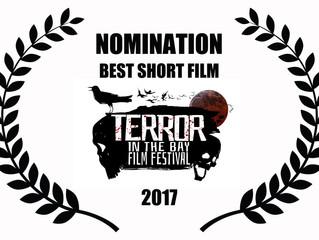 Alfred J Hemlock Nominated for 4 Awards at Terror in the Bay Film Festival