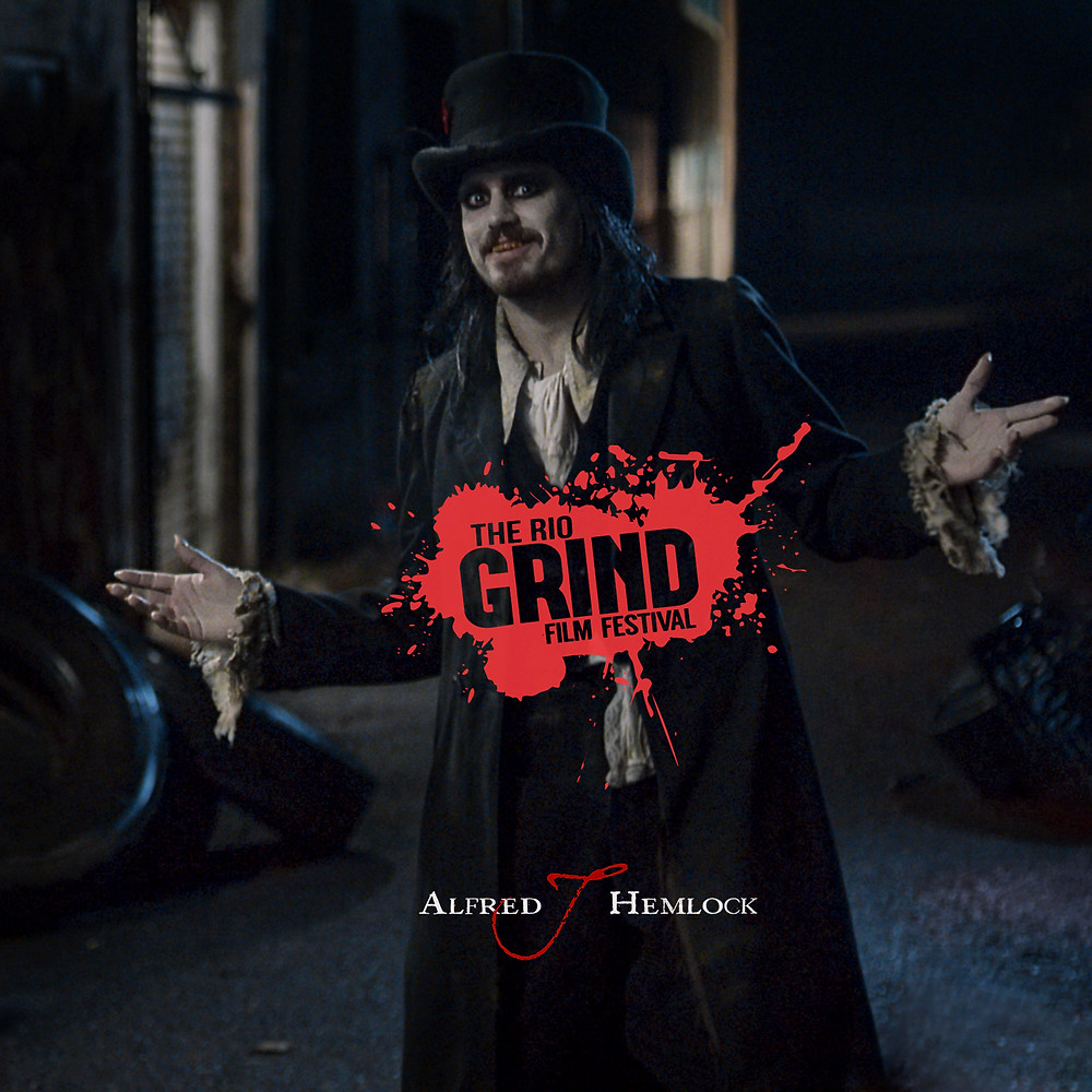 Alfred J Hemlock is an Official Selection at the Rio Grind Film Festival