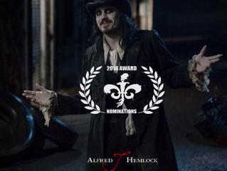 Alfred J Hemlock Nominated for Two Awards at NOLA Horror Film Fest