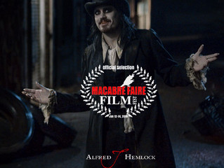 Alfred J Hemlock an Official Selection at the Macabre Faire Film Festival