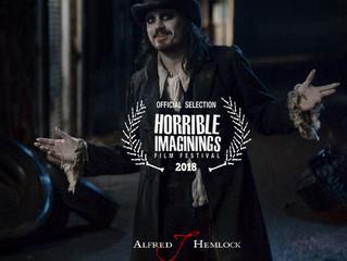 Alfred J Hemlock an Official Selection at Horrible Imaginings Film Festival