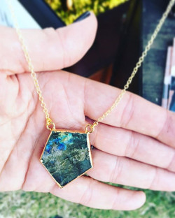 We love Labradorite! One of these beauti