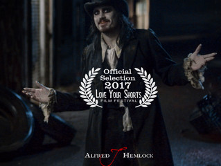 Alfred J Hemlock an Official Selection at the Love Your Shorts Film Festival