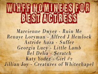 Renaye Loryman Nominated for Best Actress at Women in Horror Film Festival