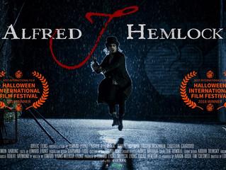 Alfred J Hemlock Wins At The Halloween International Film Festival